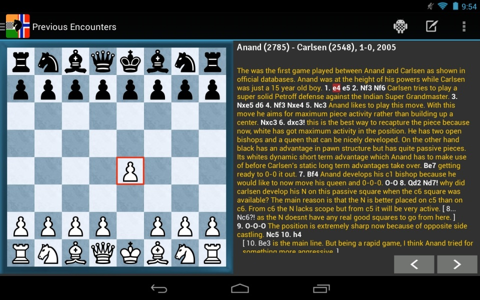 Official App of the FIDE World Championship Match 2013 1