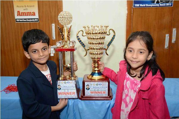 Nihal Sarin, Divya Win U9 Titles
