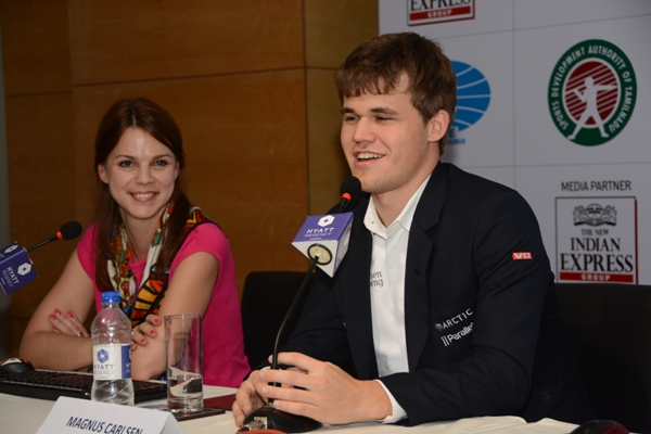 "<span class=""color1"">Interview with Magnus Carlsen</span>"