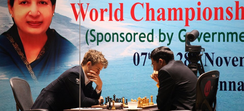 "<span class=""color1"">Carlsen with second consecutive victory</span>"