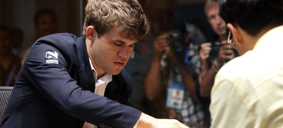 "<span class=""color1"">Magnus Carlsen is World Chess Champion 2013!</span>"