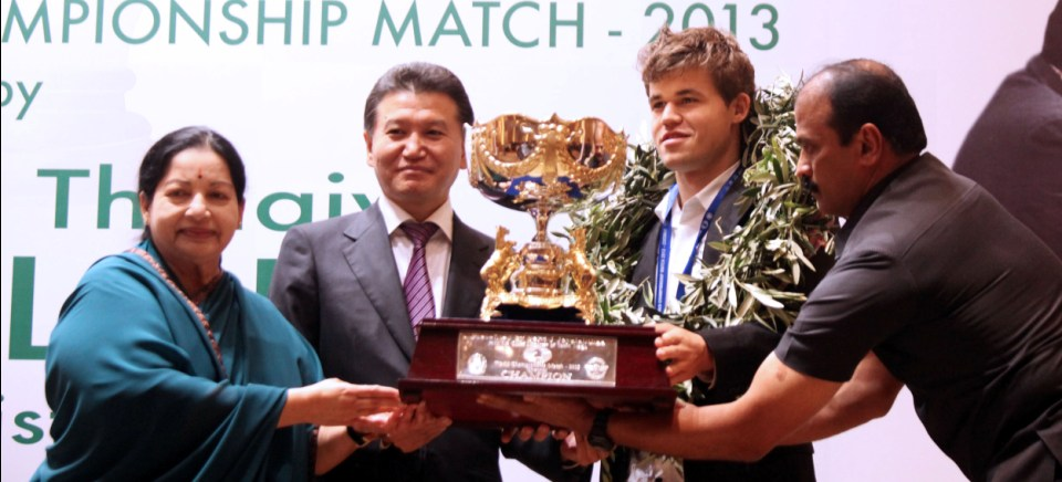 "<span class=""color1"">Magnus Carlsen is crowned World Champion</span>"